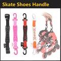 [Patines Gancho] Buena Calidad Patines de ruedas en línea de Nylon Mango Hebilla de Gancho, para seba rb powerslide zapatos de patinaje patins
