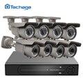 H.265 8CH 48 V POE NVR Sistema CCTV DVR HD 4 K 4MP 2.8-12mm lente varifocal POE Cámara IP IR Al Aire Libre de Vigilancia de Seguridad de Vídeo Kit