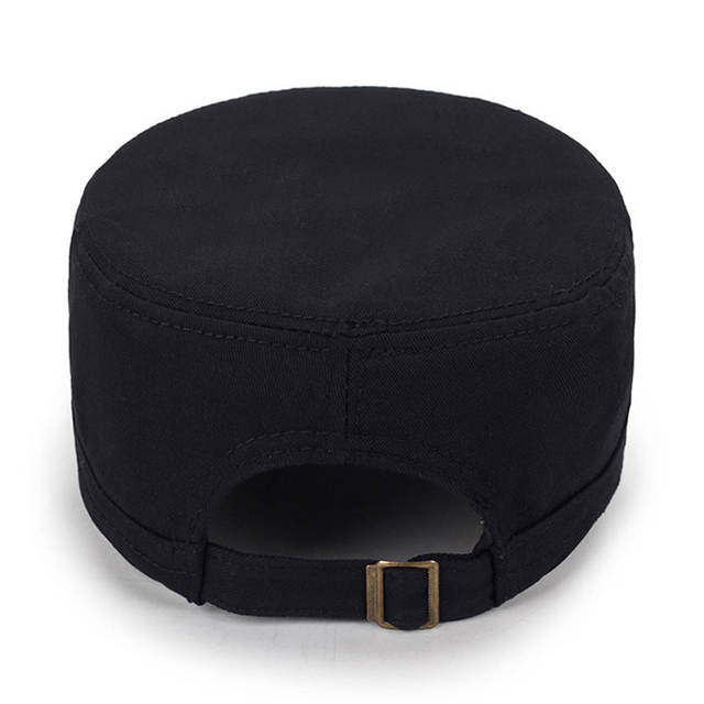 e665a952ccb Eagleborn 2019 Army 511 Flat Top Mens Caps Hat Adjustable Star embroidery  Solid Cotton Cap Baseball