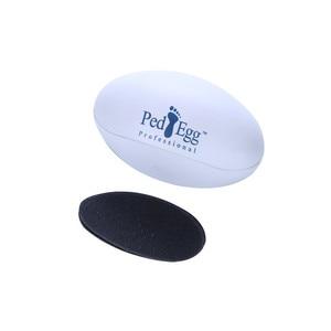 Ped массажер для ног форма яйца конечная пилка гладкие ноги сухое жесткое средство для удаления боли Красота Здоровье Массаж Pedi Spin