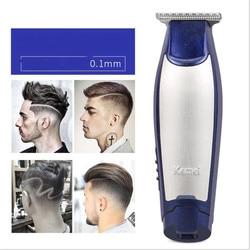 Elektryczny T ostrze do strzyżenia włosów trymer Razor mężczyźni zarys fryzjerstwo stylizacja łysa głowa do golenia maszyna do cięcia linii włosów fryzura