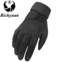 Richyuan армейские тактические перчатки человек полный палец перчатки Военная полиция защитные перчатки скорость сухой анти-скользкий зимние ...