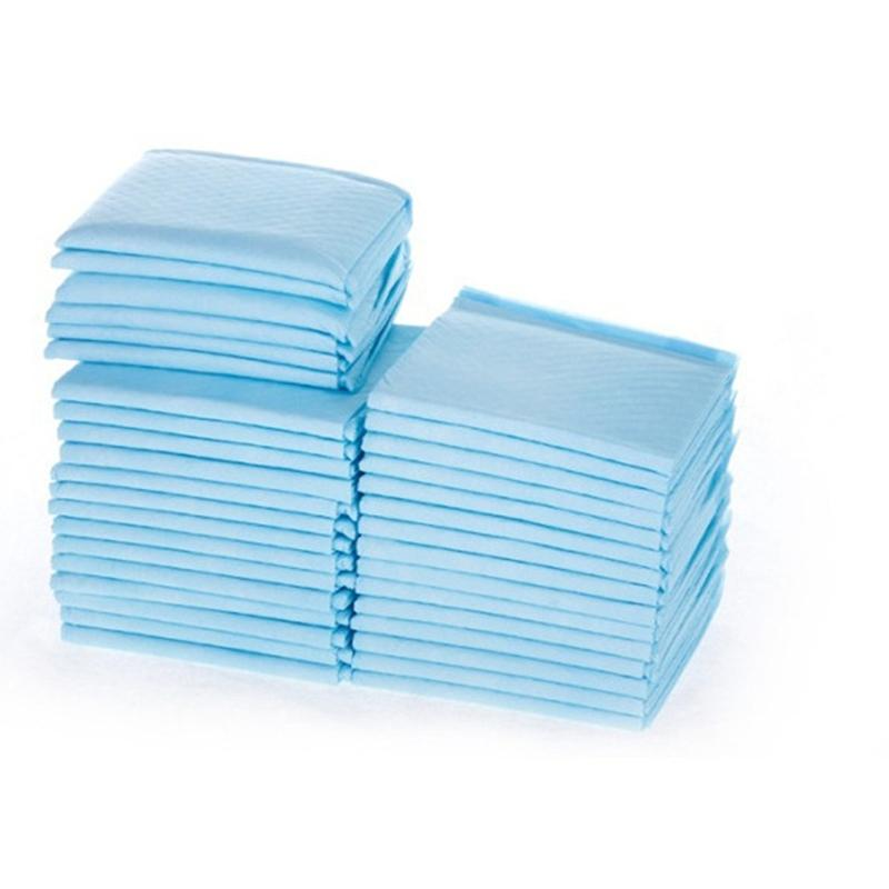 Adeeing 100Pcs Pet Thicken Diapers Dog Cat Rabbit Non-woven Fabric Urinal Pad Hygiene Kits