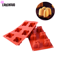High Quality Shaped Cake Mold Fondant Kitchen Baking Pastry Tools Non Stick Silicone Molds For Muffin