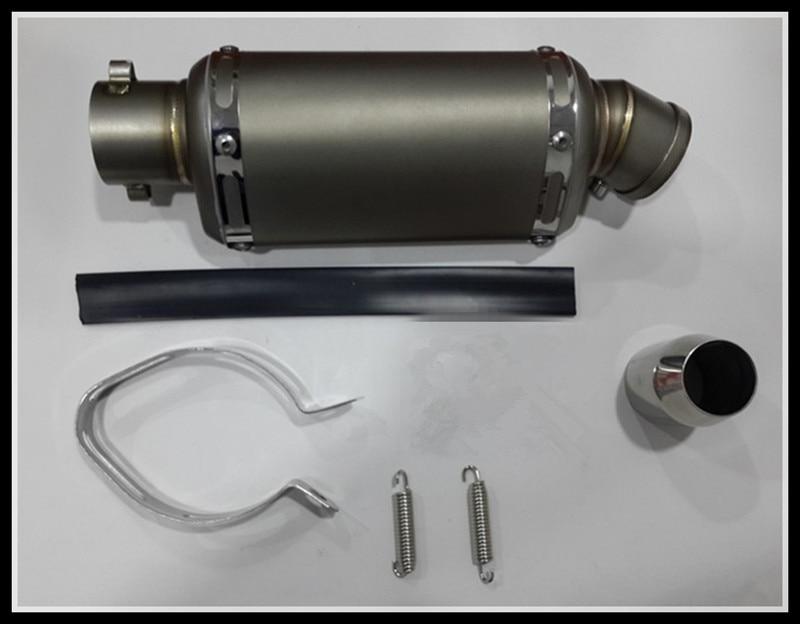51 mm-es rozsdamentes acél utánzat Titán motorkerékpár Scooter - Motorkerékpár tartozékok és alkatrészek