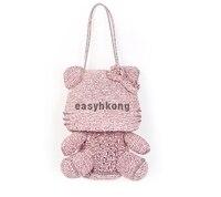 anteprima izumi Star with the crystal Hello Kitty Cat PVC woven bag