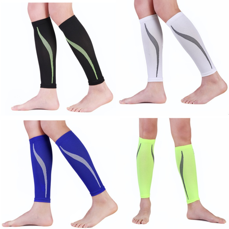Adult Snowboard Kneepad Basketball Knee Brace Leggings Calf Knee Pads Graduated Compression Leg Sleeve Sports Socks