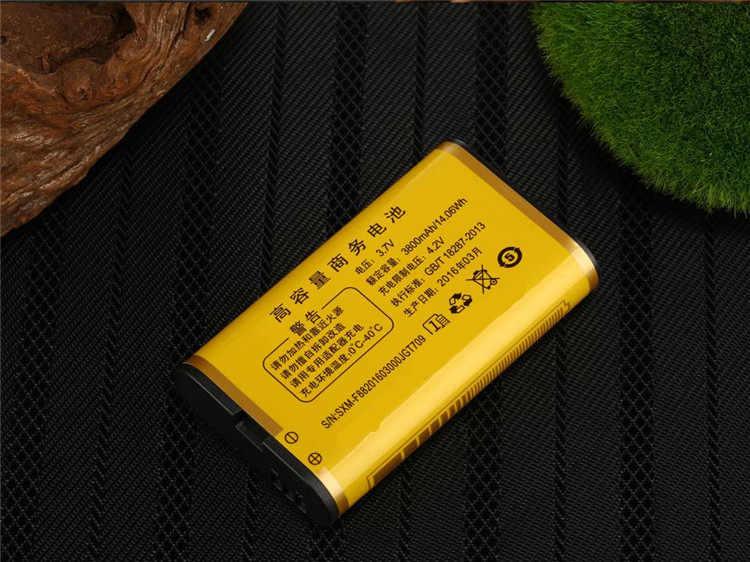 ビッグバッテリー 3800 mAh 電話デュアル sim GSM 防塵耐衝撃携帯電話ビッグトーチスピーカーシニア長老携帯電話ロシア SOS