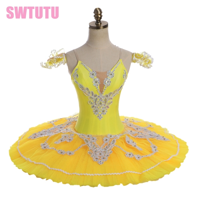 ac2200218 yellow ballet tutu adult professional ballet costumes yellow classical ballet  tutu for girls nutcracker tutu pancake womenBT8931
