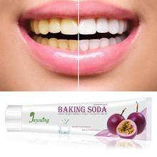 110 г пищевая Сода зубная паста Отбеливание зубов Отбеливание фруктов зубная паста для ухода за полостью рта удаление пятен фруктовая зубная паста