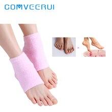 1 Pair Pro Gel Heel Socks Moisturizing Spa Socks Feet Skin Care Cracked Foot Dry Hard Skin New Protector Foot Grinding Tool Free