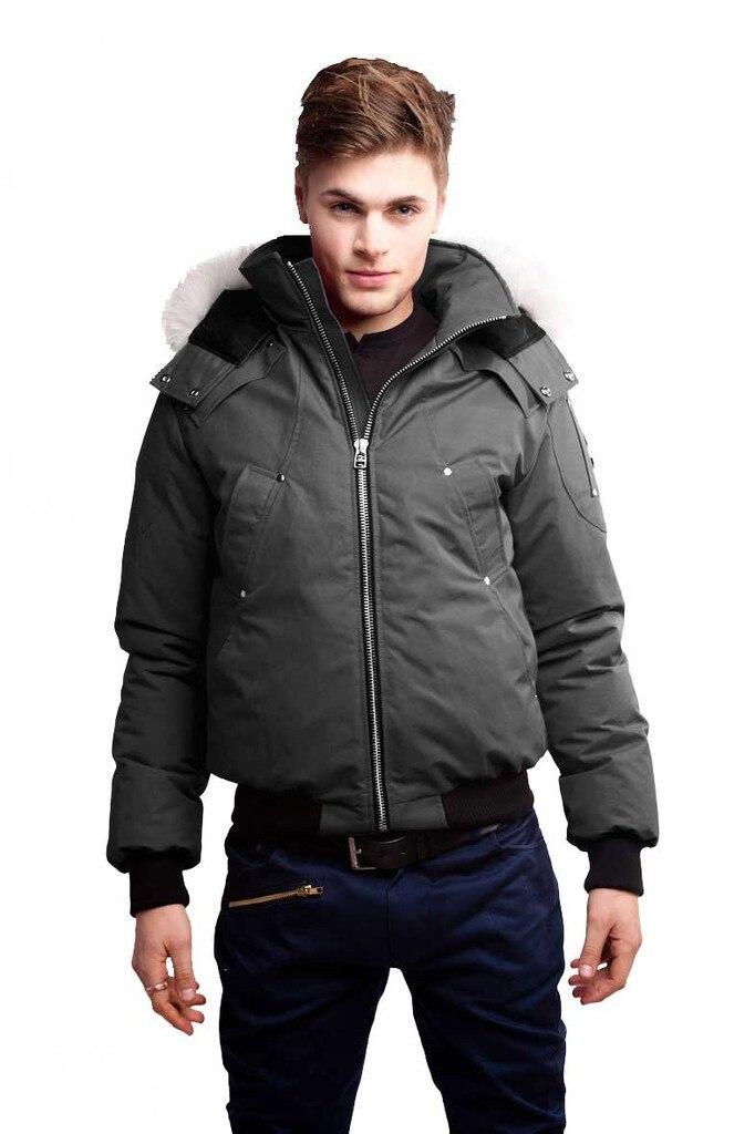 New Men's Moose Knuckles Winter Jacket Ballistic Bomber