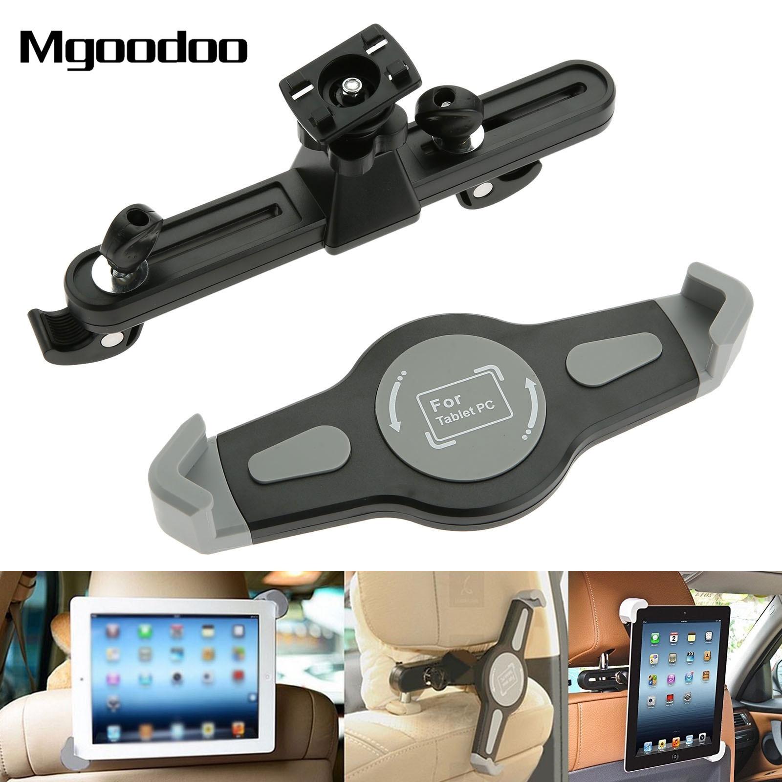 360 Grad Auto Kopfstütze Halter Rücksitz Halterung Für 7-10 Zoll Tabletten Ipad Air Mini Für Samsung Kindle Feuer Hdx QualitäT Und QuantitäT Gesichert