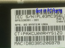 NEW !!! FREE SHIPPING 538391-001  laptop Motherboard SUITABLE  For HP Compaq 515 615 CQ515 CQ615 Notebook pc