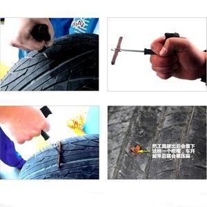 Image 5 - 60ルート4ミリメートル * 100ミリメートルタイヤの修復ゴムストリップタイヤ修理ツールオートバイのチューブレスタイヤがありません