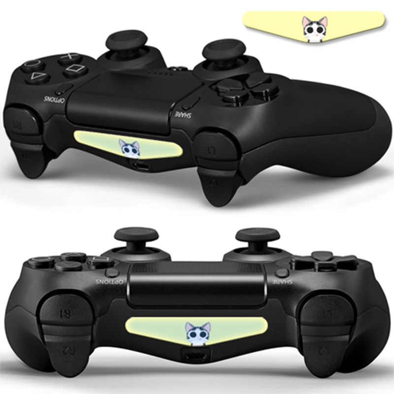 2 pieces Protective cover skin sticker for PS4 LED Light Bar for video game for PS controllers  #TN-P4S LED-0360