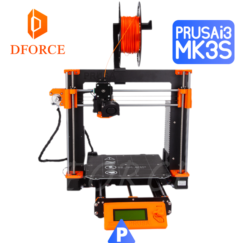 D-FORCE Cloned Prusa I3 MK3S Full Kit (exclude Einsy-Rambo Board) PETG Material 3D Printer DIY MK2.5/MK3/MK3S