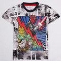 &E-babe&Wholesale Boys Clothing Star wars For Boy 2015 New Fashion High Quality Summer Tops Short Sleeve T-Shirt Free Ship