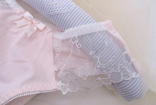 Princesse douce lolita sous-vêtements japonais taille basse doux rêve coton broderie filles princesse slips sous-vêtements BDJ034