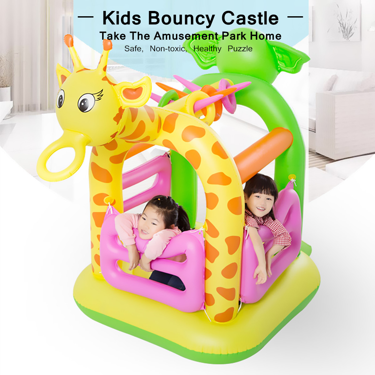 Non-toxic Multi-functional Design PVC Inflatable Kids Children Bouncy Slide Castle Jumping Bouncer House Outdoor Play Colorful giant dual slide inflatable castle jumping bouncer bouncy castle inflatable trampoline bouncer kids outdoor play games