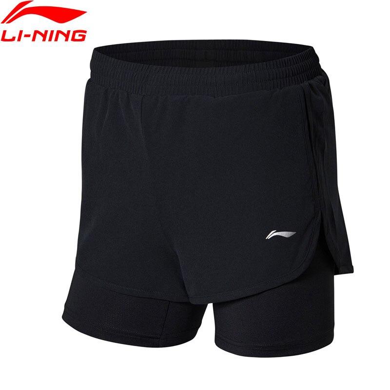Li-Ning Women's Badminton Competition Shorts Breathable Fitness Comfort LiNing Li Ning Sports Shorts AAPN038 WKD595