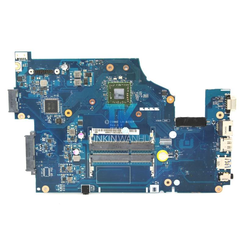 Original LA B232P Motherboard for Acer Aspire E1 521 NBMLF11004 Z5WAE Laptop Motherboard