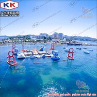 Customized Water Running Game Inflatable Water Park for Adult and Kids