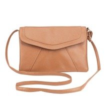 Women Vintage Leather Envelope Messenger Bags Female Slim Crossbody Bag Satchel Ladies Clutches Party Purses