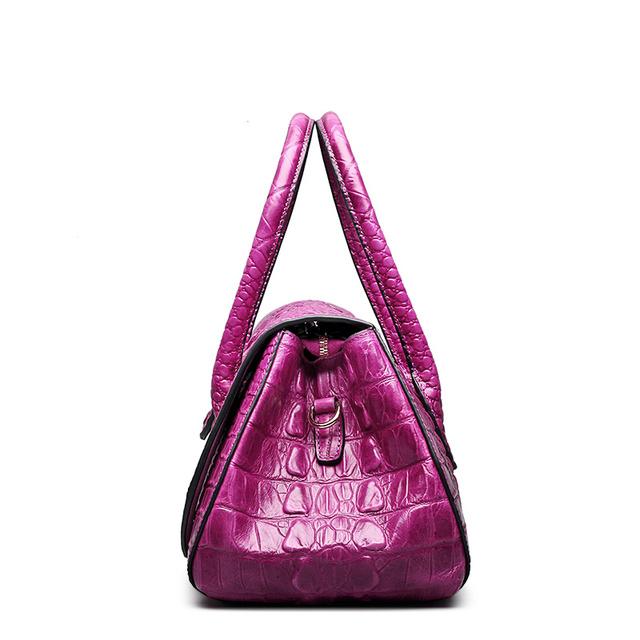 Women Fashion  Crocodile Embossed tote bag  or Classical  Alligator handbag with shoulder strap