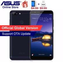 Orijinal ASUS ZenFone Max Artı M1 Cep Telefonu 5.7 inç 18:9 Tam Ekran ZB570TL 4G Akıllı Telefonlar 4 GB 32 GB ROM 3 Yuvaları 16M...