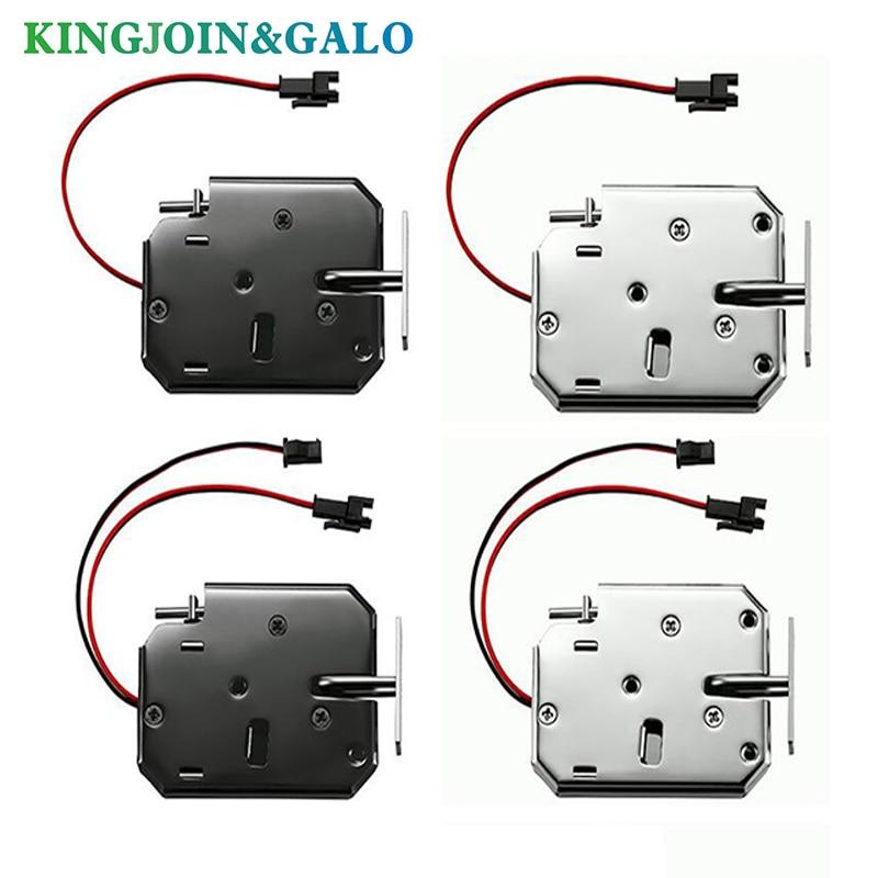 1PC Smart Solenoid Electromagnetic Door Lock DC 12V Electronic Lock