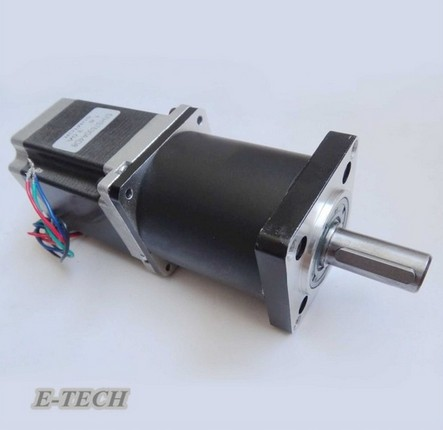 Planetary Gearbox Stepper Motor Nema23 Gear ratio 15 20 25 30 40 50 100: 1 NEMA23 Engine Length 112 mm 57mm planetary gearbox geared stepper motor ratio 10 1 nema23 l 56mm 3a