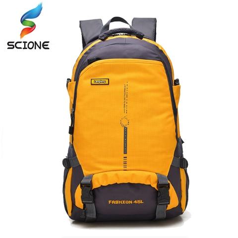 45l a prova dwaterproof agua ourdoor mochila esportes caminhadas escalada acampamento caminhadas mochila packsack sacos
