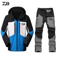 2018 New Brand Daiwa Fishing Clothing Sets Men Breathable Sports Wear Set Hiking Windproof Dawa New Clothes Fishing Jacket Pants