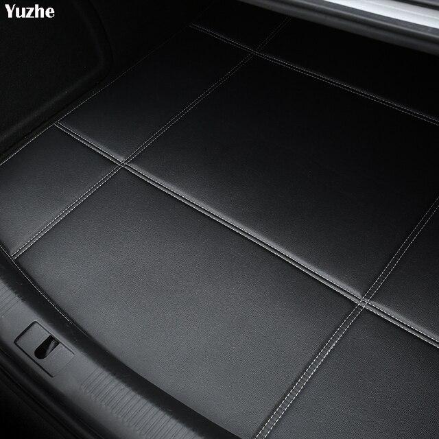 Yuzhe Car Trunk Mats For Opel astra h g vectra c mokka zafira b corsa d Waterproof Carpets car accessories Cargo Liner