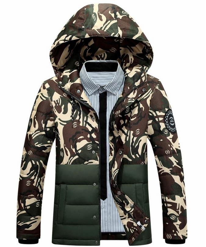 ФОТО Men's Winter Jacket Fleece Coat Casual Fashion New Men Thick Cotton Down Jacket Short Style Men Thickening Casual Cotton Jacket