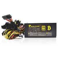 2000W ATX Computer Power Supply For Mining Machine Support 8 Pieces Graphics Card Original New