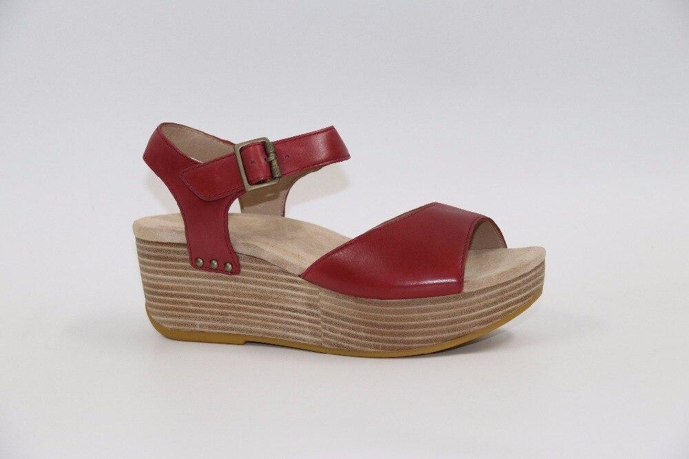 ФОТО Thick bottom sandals Head leather sandals Women sandals EU36 37