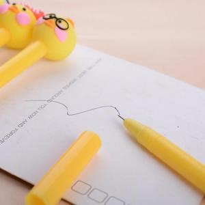 Image 3 - Jonvon satin stylo Gel canard créatif, 40 pièces, joli stylo Signature rouge pour étudiants, fournitures de bureau coréennes, vente en gros