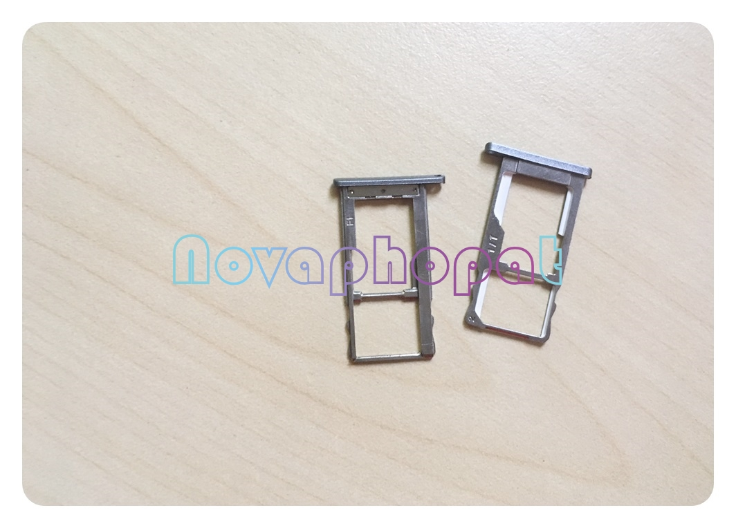 Novaphopat For <font><b>Meizu</b></font> <font><b>M2</b></font> <font><b>Note</b></font> <font><b>SIM</b></font> Card <font><b>Tray</b></font> Holder Micro SD Slot Socket Adapter Replacement + Tracking image