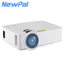 800*600 Pixels Portable LED Projector Wireless WIFI Smart LED Beamer Pocket Projectors Support HDMI USB With Free Gift