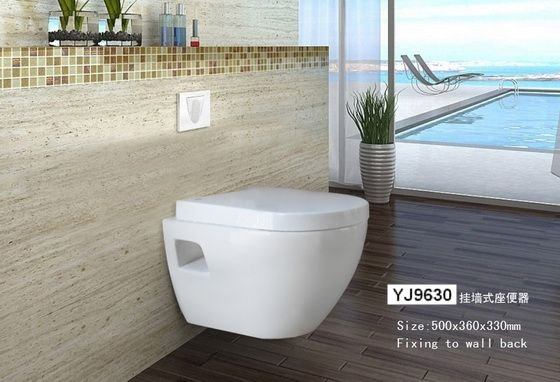 YJ9630 Wall Hung Toilet Ceramic WC Bowl