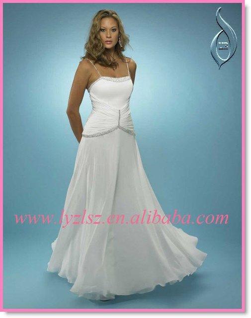 ac483f4078 Aliexpress.com : Buy Beach Wedding Dress Series HY0257 from Reliable ...