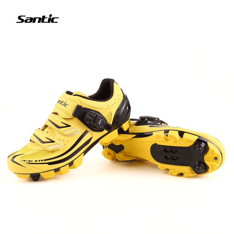 Santic MTB Cycling Shoes zapatillas ciclismo Bicycle cycling Shoes Men Cleated Shoes zapatos Bike Mens Cycling riding shoes santic mtb cycling pants bicycle bike downhill pants women trainers cycling tight pants l5c05058p