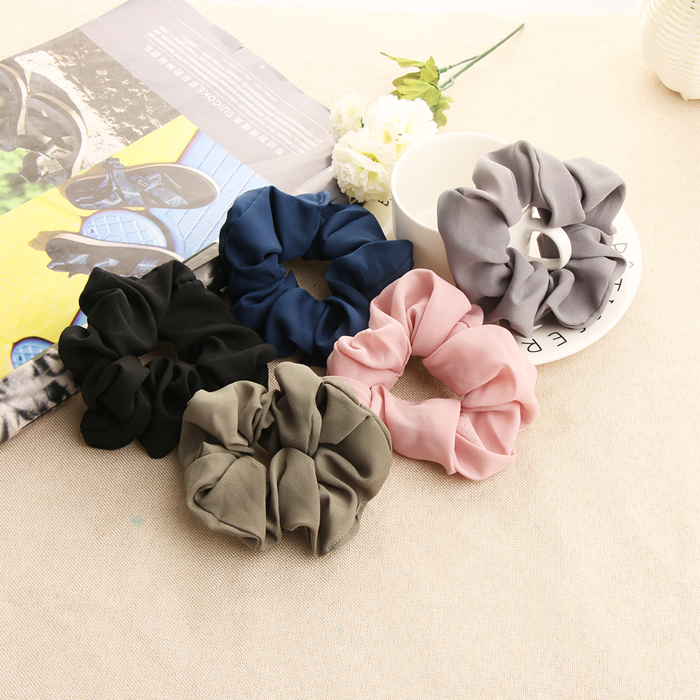 Baby Girl Floral Hair Bobbles Toddler Headbands 4 Bobbles Various Colours Lot
