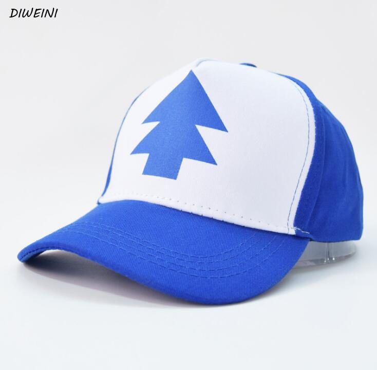 1 Pcs/set Kawaii Gravity Falls Baseball Mesh Trucker Caps Hat Fans Summer Kids Boys Girls Adult Plush Toys