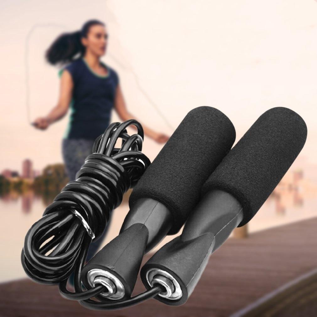 Kids Adult Adjustable Bearing Speed Training Jump Rope Sports Gym Tool
