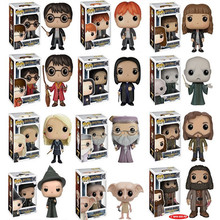 FUNKO POP Movie Harry Potter - LUNA, Hermione, RON, GINNY, PETER Vinyl Action Figure Model Collectible Model Toy for gift цены