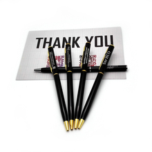 Drop shipping good quality ball pen custom with your words for 40th wedding anniversary gifts guest and friends