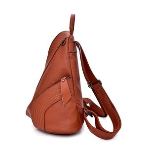 Image 4 - 2019 Designer Backpacks Brand Travel Shoulder Bag Female Backpack For Girls Sac a Dos Vintage Bagpack Ladies Mochilas Back Pack